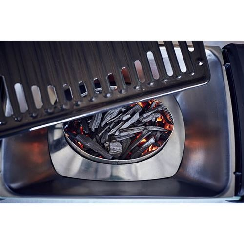 Aurora Mirror Portable Smokeless Charcoal BBQ Grill