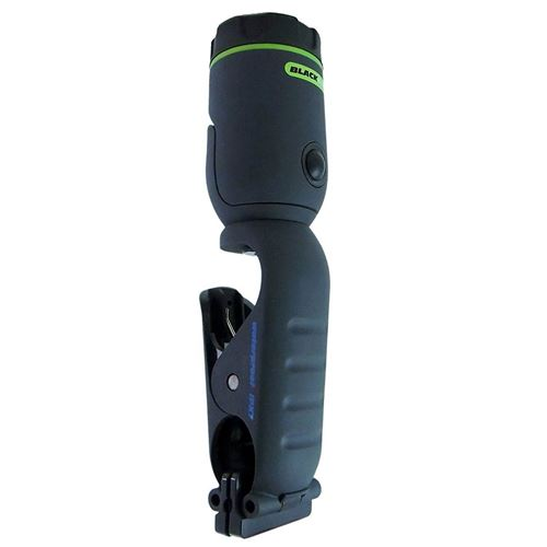 Waterproof LED Torch Blackfire Clamplight